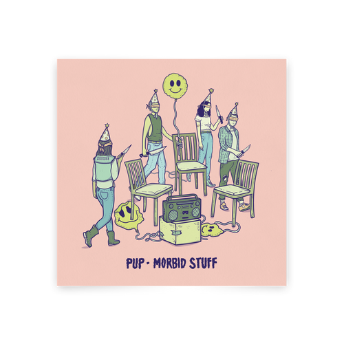 PUP MORBID STUFF CD