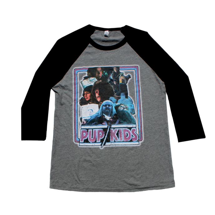 PUP KIDS: THE MOVIE 3/4 SLEEVE T-SHIRT