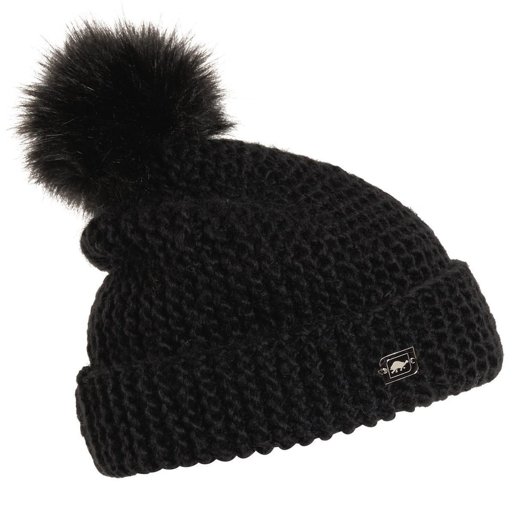 Turtle Fur Merino Wool Saulire Pom Hat – North Star Sports a66a0a85286