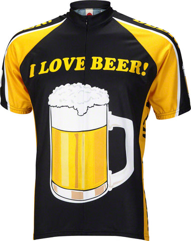 World Jerseys I Love Beer! Cycling Jersey