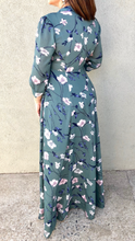 Button Front Long Dress