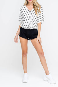 Knit Stripe Top