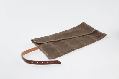 Bradley Mountain Tool Roll - Field Tan