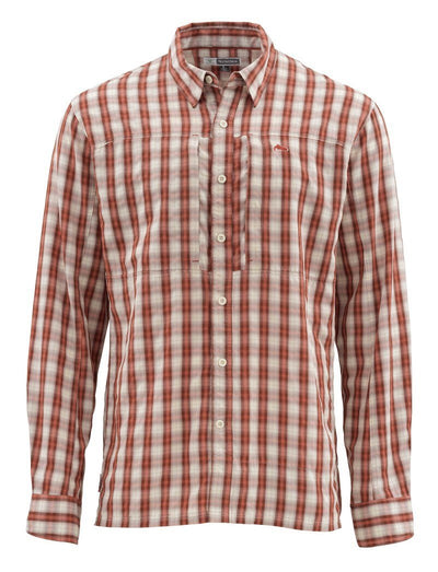 BugStopper Shirt Rusty Red Plaid