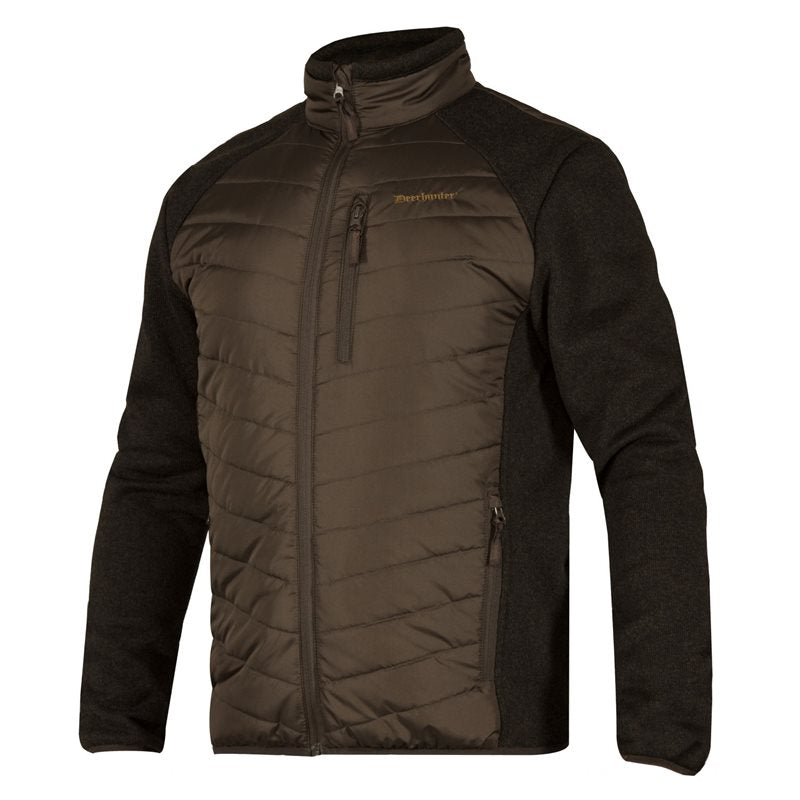Deerhunter Moor Padded Jacket with Knit Sleeve