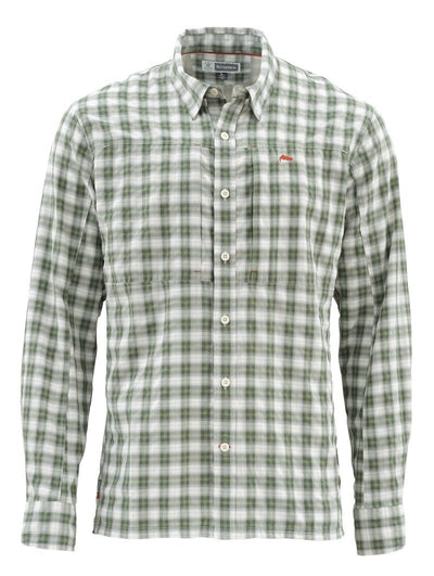BugStopper Shirt Kelp Plaid