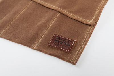 Bradley Mountain Tool Roll - Brush Brown