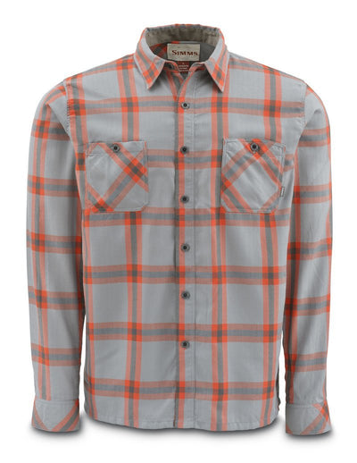Black's Ford Flannel Shirt Fury Orange Plaid