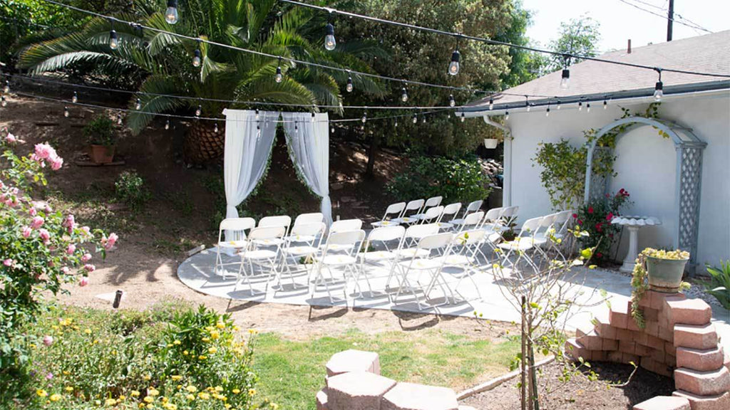 Inspiring Diy Rustic Outdoor Backyard Wedding Ideas Balsacircle Com