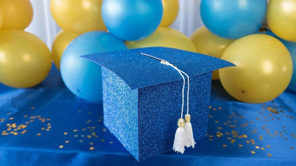 Blue and Gold Grad Party Ideas