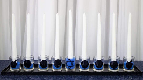 Hanukkah Menorah Decorations