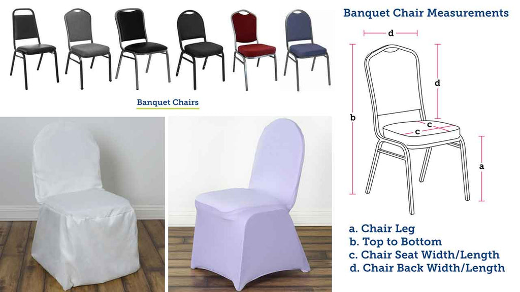 Banquet vs Folding Chairs - How to Choose the Right Chair Cover | Banquet Chairs - BalsaCircle.com