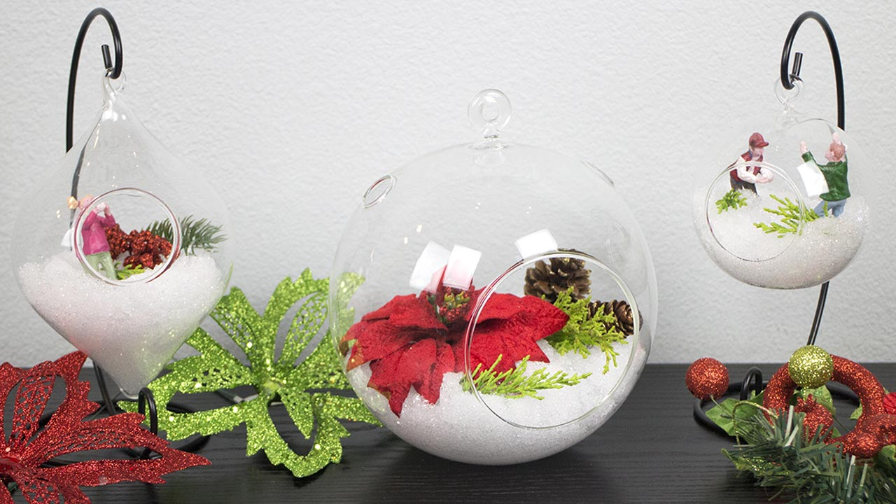 Handmade Gifts for the Holidays - Glass Terrariums - BalsaCircle.com