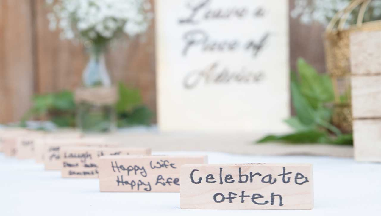 Inspiring DIY Backyard Wedding - Balsa Circle Blog