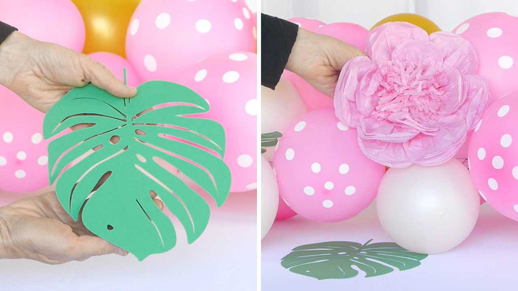 How To Make a Balloon Table Runner for your Party | Balsa Circle