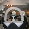 12 feet Balloon White Arch Stand Kit