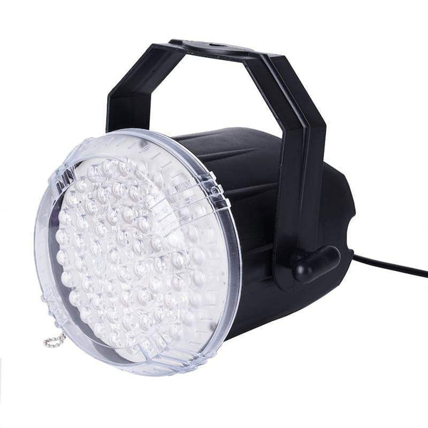 35 Watt White LED Stage Backdrop Strobe Spotlight with Adjustable Rate