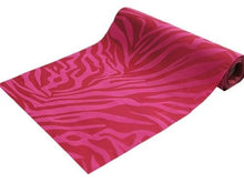 "12"" x 10 Yards Zebra Stripes Fabric Bolt - Fushia / Fushia"