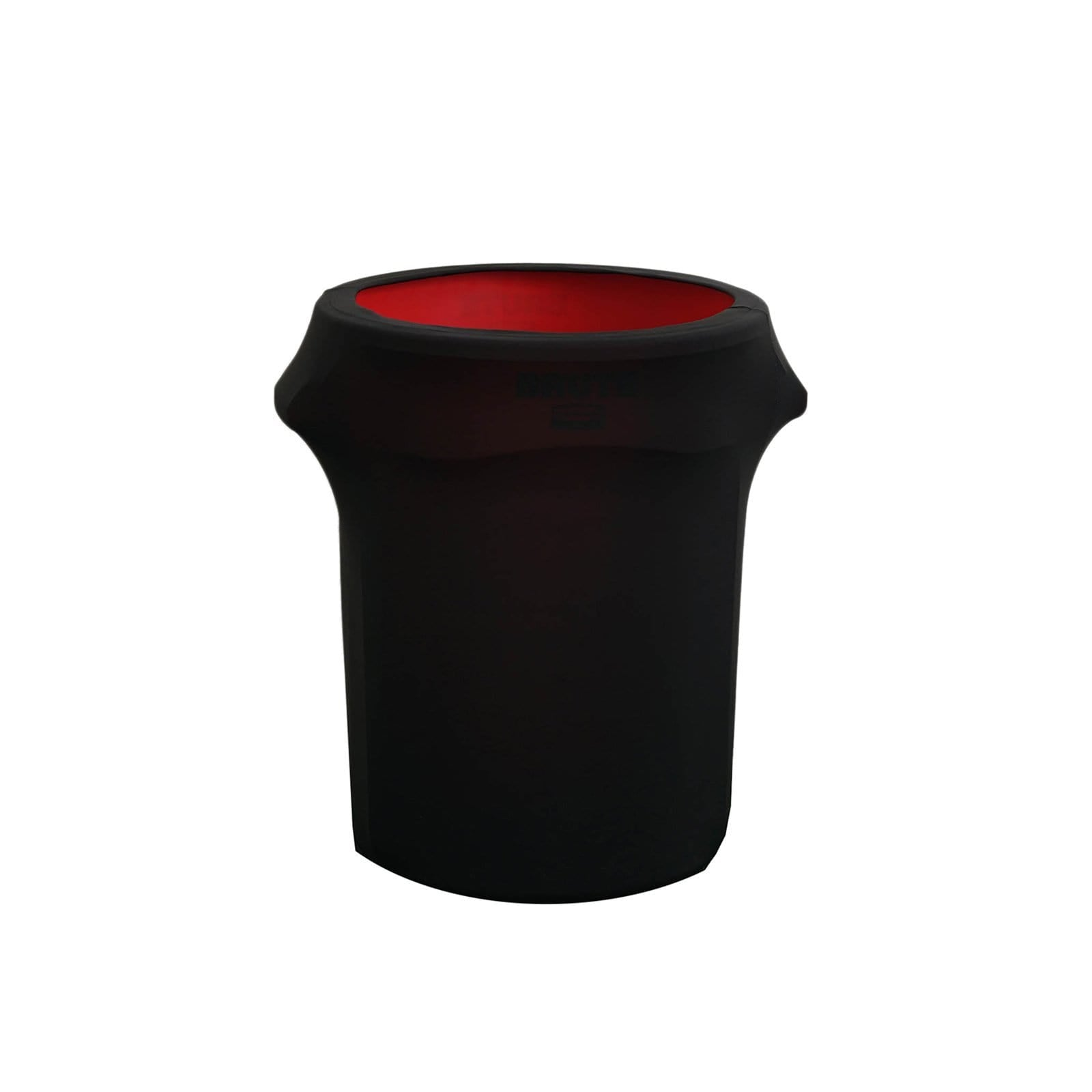 24-40 gallons Black Round Stretchable Spandex Trash Can Cover