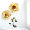 "6 8"" wide Gold Foam Large Roses for Flower Walls"