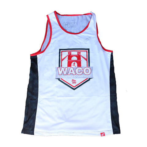 2019 Men's WRC Custom Singlet - Red / Gray