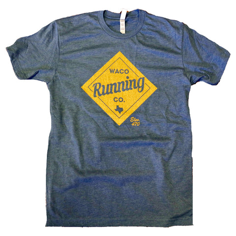 WRC Diamond Tee - Indigo / Gold