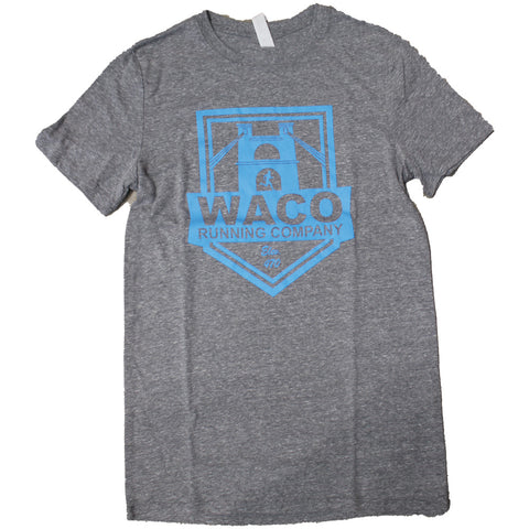 WRC Shield Logo Shirt - Grey / Blue