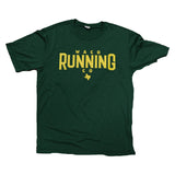 WACO RUNNING COMPANY TECH SHIRT - Heathered Green
