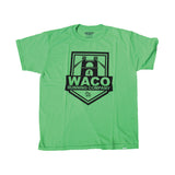 WRC YOUTH GREEN SHIELD LOGO SHIRT