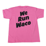 WRC YOUTH SHIELD PINK LOGO SHIRT