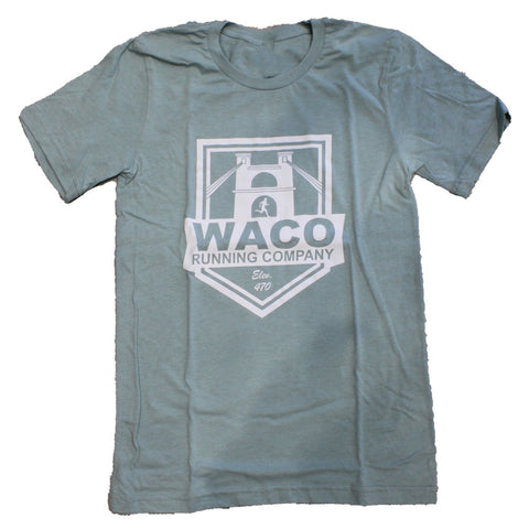 WRC Dusty Blue Shield Logo Shirt