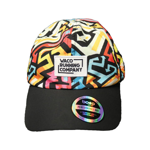 WRC Boco Elite Running Hat - Graffiti
