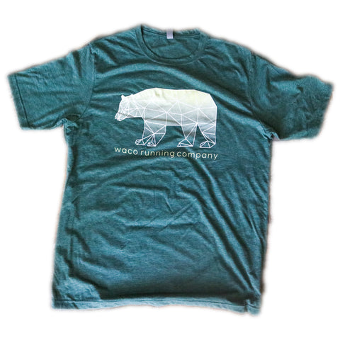 WRC Geometric Bear Shirt - Green