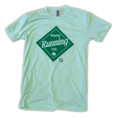 WRC Diamond Tee - Mint / Green