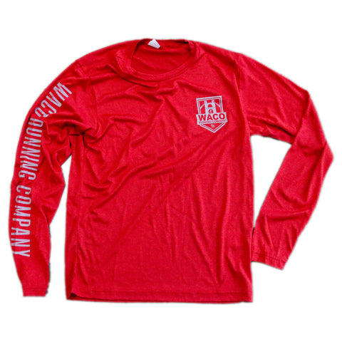WRC Long Sleeve Tech Tee - Red