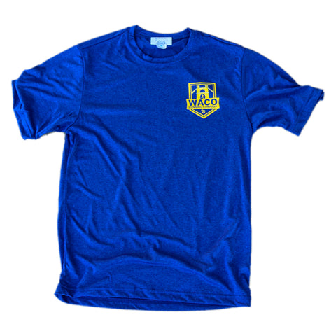 WRC Shield Tech Tee - Blue / Yellow