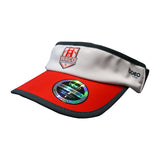 Boco Gear WRC Visor - White / Black / Red
