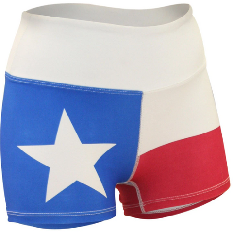 Women's BOA Fit Texas Flag Short