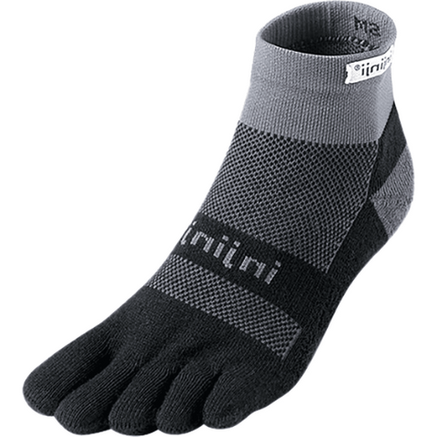 Injinji Run Midweight Mini-Crew Socks