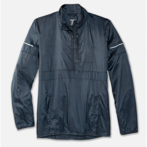 Men's Brooks LSD Pullover - Black / Grey