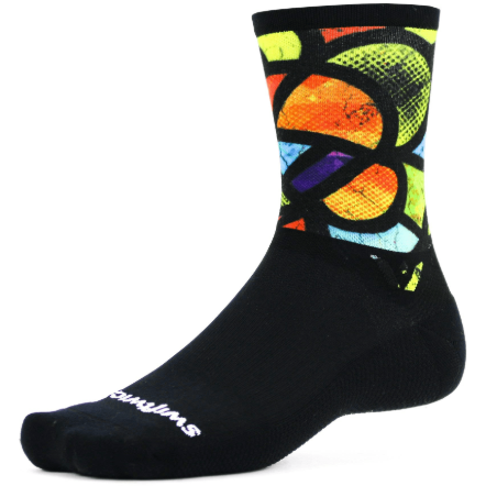 Swiftwick Vision Six Impression Crew Socks