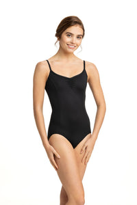 AinslieWear Pinch Front Princess Strap Leotard 101P