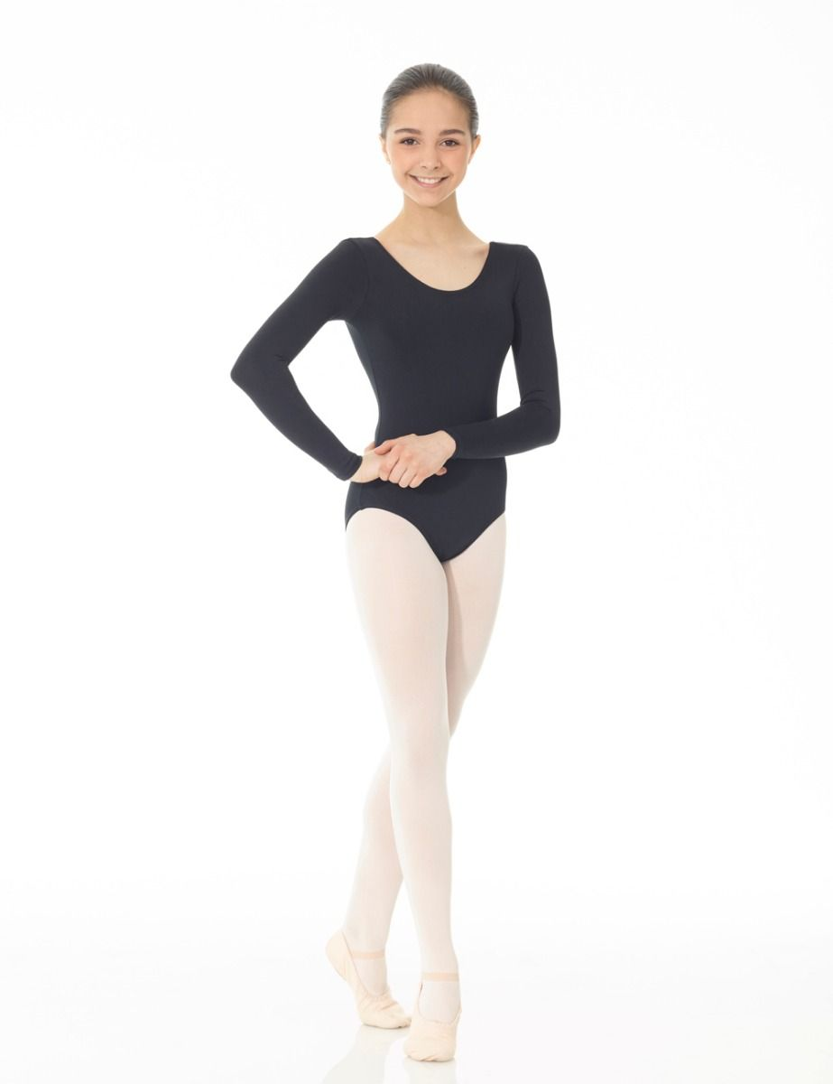Mondor Essentials Long Sleeve Leotard 40097