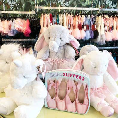 Blush and Glitter Stuffed Animals