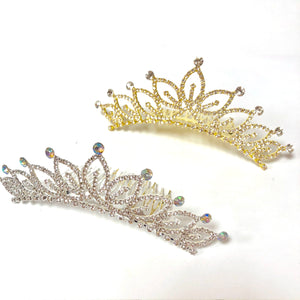 FH2 Medium Pointed Leaf Tiaras