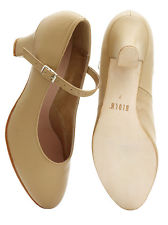 "Bloch Adult 2.5"" Heel Leather Cabaret Shoe SO306L"
