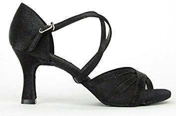 "So Danca Rikki Satin Open Toe 2.5"" Heel BL162"