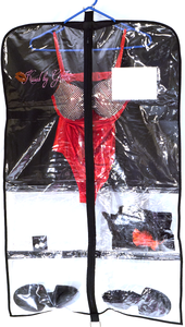 Kissed by Glitter Breathable Garment Bag