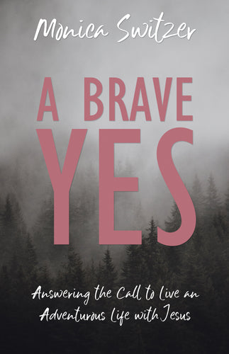 A Brave Yes:<br><small>Answering the Call to Live an Adventurous Life with Jesus</small>
