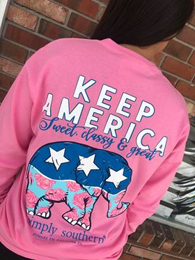 Simply Southern Republican Long Sleeve